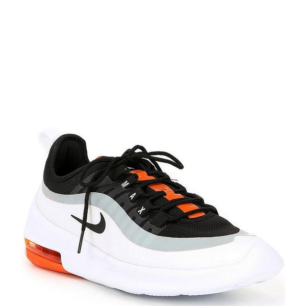 ナイキ メンズ スニーカー シューズ Men's Air Max Axis Lifestyle Shoe Black/White/Magma Orange/Black