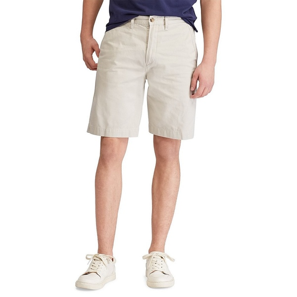 ラルフローレン メンズ ハーフ&ショーツ ボトムス Relaxed-Fit Twill 10#double; Inseam Surplus Shorts Classic Stone