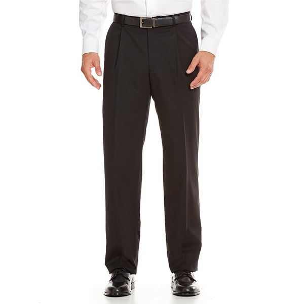 <title>ハートシャファネールマークス 送料無料お手入れ要らず メンズ ボトムス カジュアルパンツ Black 全商品無料サイズ交換 Tailored Single-Pleat Regular Chicago Fit Dress Pants</title>