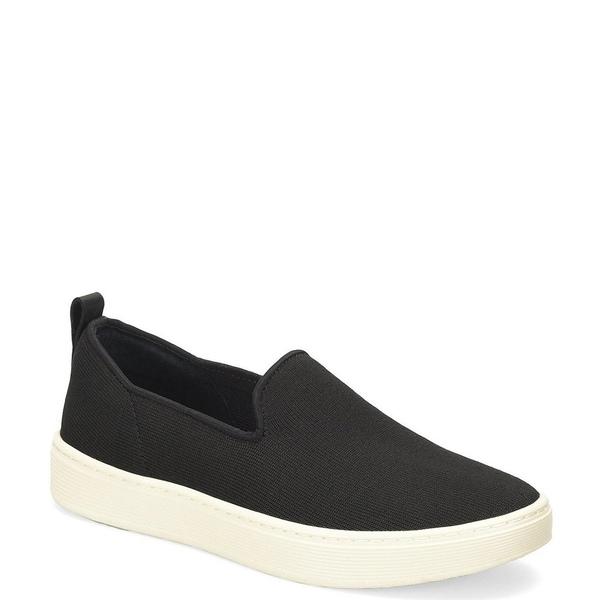 ソフト レディース スニーカー シューズ Somers Knit Slip On Sneakers Black
