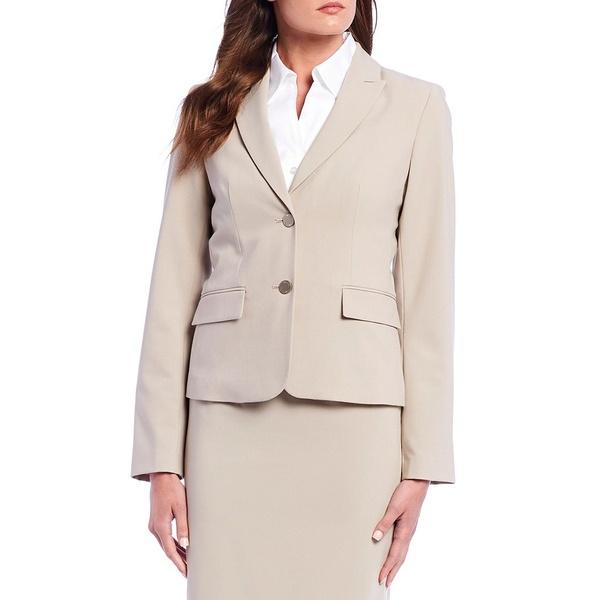 カルバンクライン レディース ジャケット&ブルゾン アウター Notch-Collar Jacket Khaki