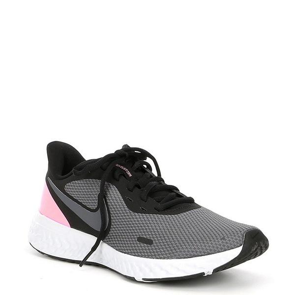 ナイキ レディース スニーカー シューズ Women's Revolution 5 Running Shoes Black/Dark Grey/Psychic Pink