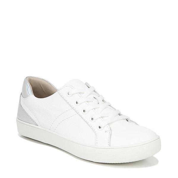 ナチュライザー レディース スニーカー シューズ Morrison Leather Sneakers White Leather
