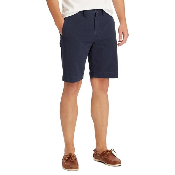 ラルフローレン メンズ ハーフ&ショーツ ボトムス Classic-Fit Stretch 9 1/4#double; Inseam Twill Shorts Nautical Ink