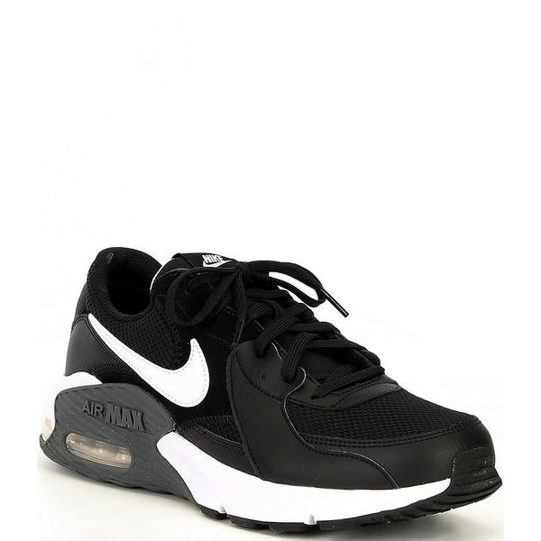 ナイキ メンズ スニーカー シューズ Men's Air Max Excee Lifestyle Shoes Black/Dark Grey/White