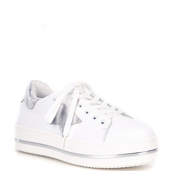 スティーブ マデン レディース スニーカー シューズ Candidate Star Leather Sneakers White