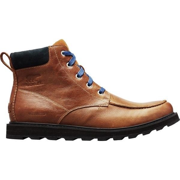ソレル メンズ ブーツ&レインブーツ シューズ SOREL Men's Madson Moc Toe Waterproof Casual Boots Elk