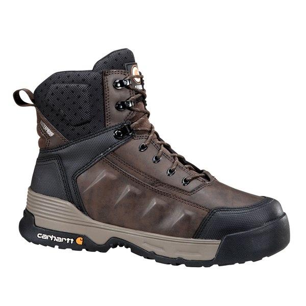 カーハート メンズ ブーツ&レインブーツ シューズ Carhartt Men's Force 6'' Waterproof Work Boots Brown