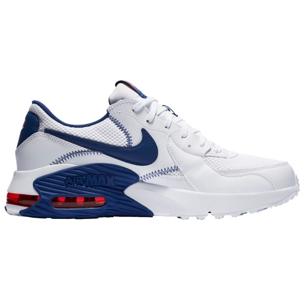 ナイキ メンズ スニーカー シューズ Nike Men's Air Max Excee Shoes White/Red/Blue