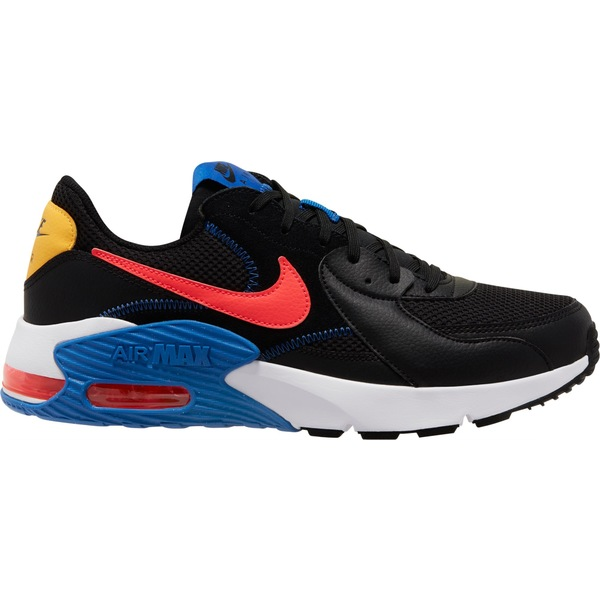 ナイキ メンズ スニーカー シューズ Nike Men's Air Max Excee Shoes Black/Crimson/White