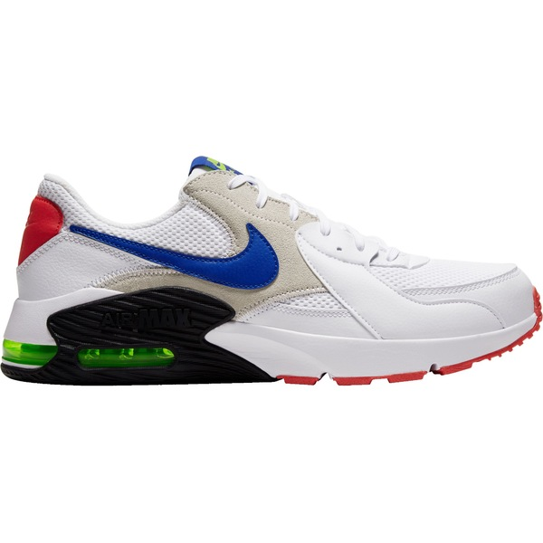 ナイキ メンズ スニーカー シューズ Nike Men's Air Max Excee Shoes Wht/HypBlu/Red
