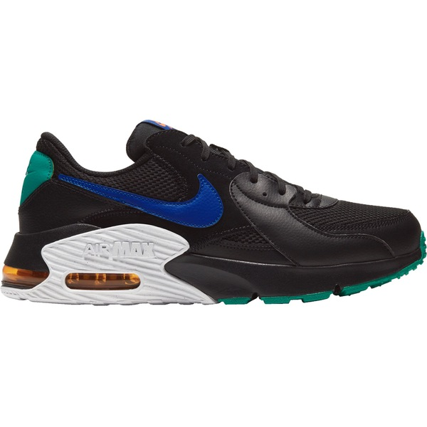 ナイキ メンズ スニーカー シューズ Nike Men's Air Max Excee Shoes Blk/Blu/NeptuneGrn/Org