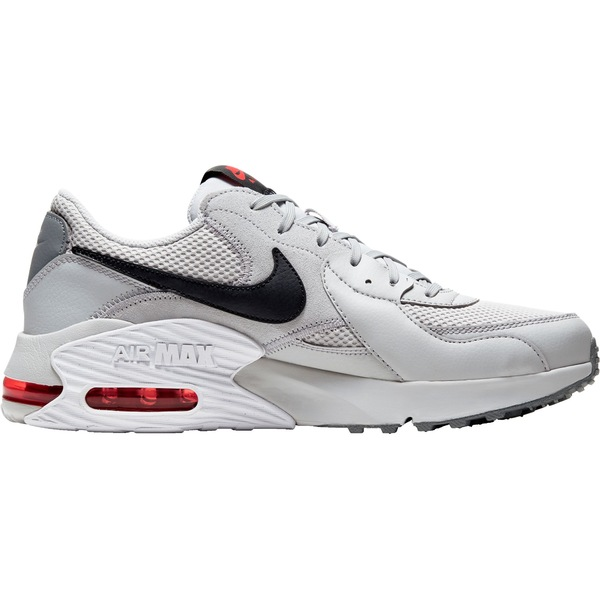 ナイキ メンズ スニーカー シューズ Nike Men's Air Max Excee Shoes GreyFog/Blk/Wht/Red