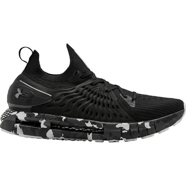 アンダーアーマー メンズ ランニング スポーツ Under Armour Men's HOVR Phantom RN Camo Running Shoes Black/White