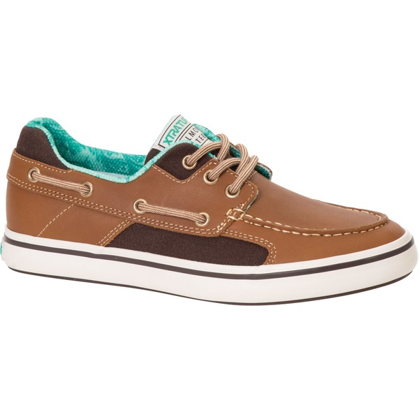 エクストラタフ レディース スニーカー シューズ XTRATUF Women's Salmon Sisters Finatic II Boat Shoes Kelp