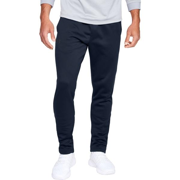 アンダーアーマー メンズ カジュアルパンツ ボトムス Under Armour Men's Armour Fleece Pants (Regular and Big & Tall) Academy/Black