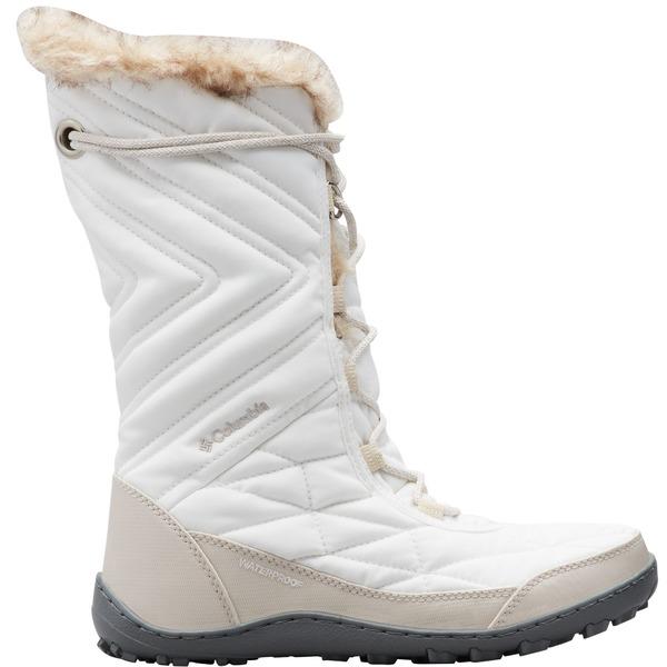 コロンビア レディース ブーツ&レインブーツ シューズ Columbia Women's Minx Mid III 200g Winter Boots SeaSalt/DarkStone