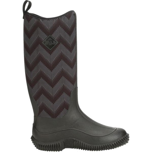 ムックブーツ レディース ブーツ&レインブーツ シューズ Muck Boots Women's Hale Chevron Waterproof Boots BlackChevron