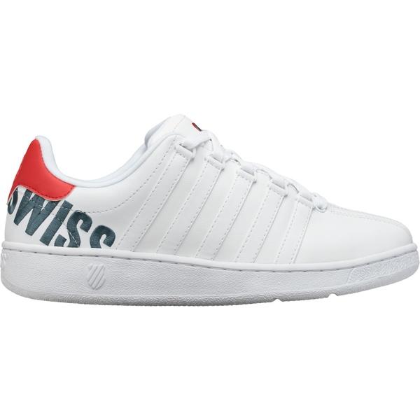 ケースイス メンズ スニーカー シューズ K-Swiss Men's Classic VN XL Shoes White/Red