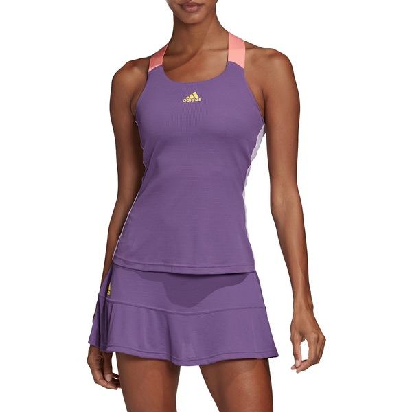 アディダス レディース シャツ トップス adidas Women's Heat-RDY Tennis Tank TechPurple