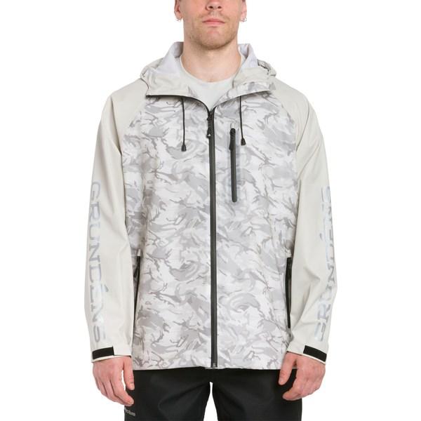グランデンズ メンズ ジャケット&ブルゾン アウター Grundens Men's Tourney Camo Jacket RefractionGlacierCamo