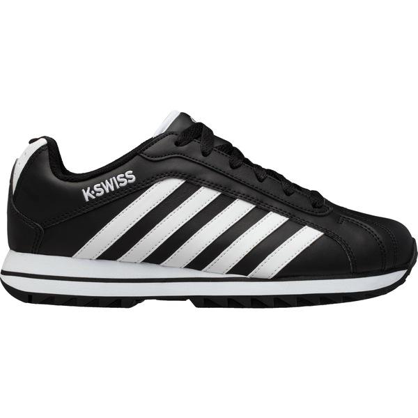 ケースイス メンズ スニーカー シューズ K-Swiss Men's Verstad 2000 S Shoes Black/White