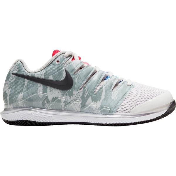 ナイキ レディース テニス スポーツ Nike Women's Air Zoom Vapor X Tennis Shoes Grey/Red