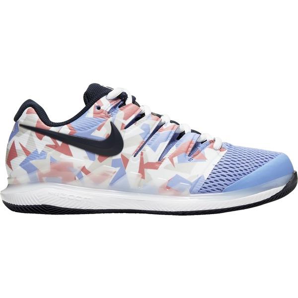 ナイキ レディース テニス スポーツ Nike Women's Air Zoom Vapor X Tennis Shoes Royal/White