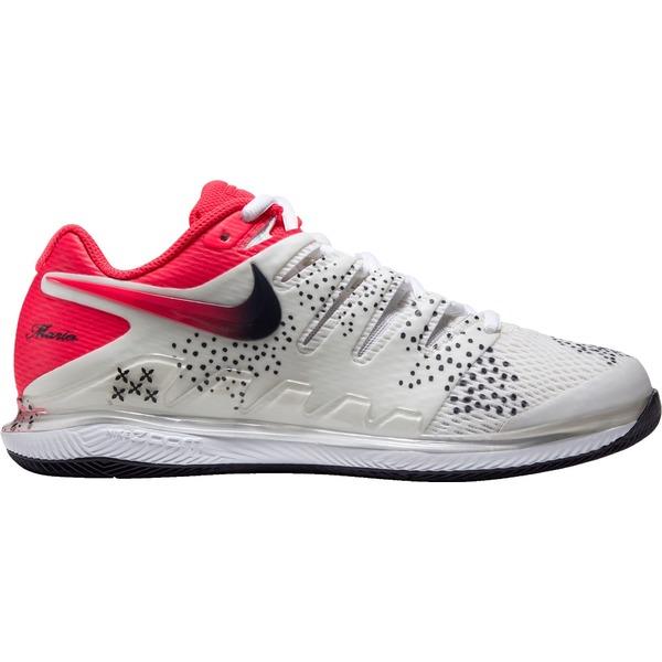 ナイキ レディース テニス スポーツ Nike Women's Air Zoom Vapor X Tennis Shoes White/Red