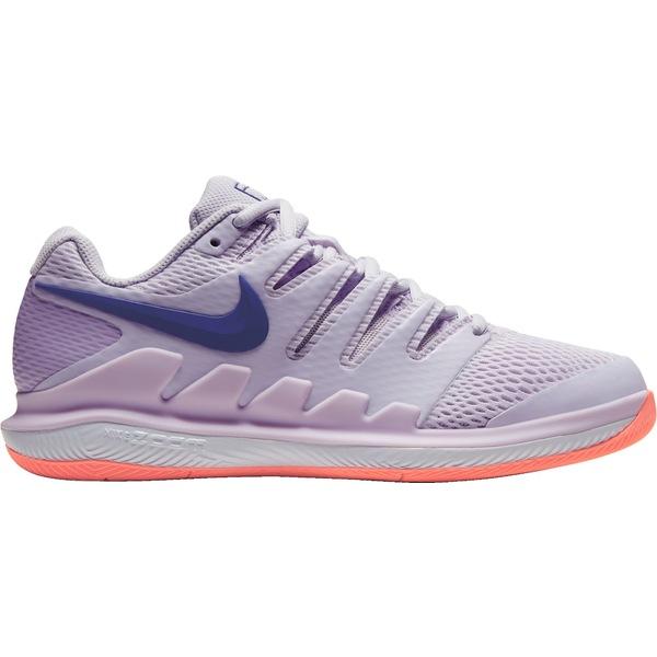ナイキ レディース テニス スポーツ Nike Women's Air Zoom Vapor X Tennis Shoes Purple/Mango