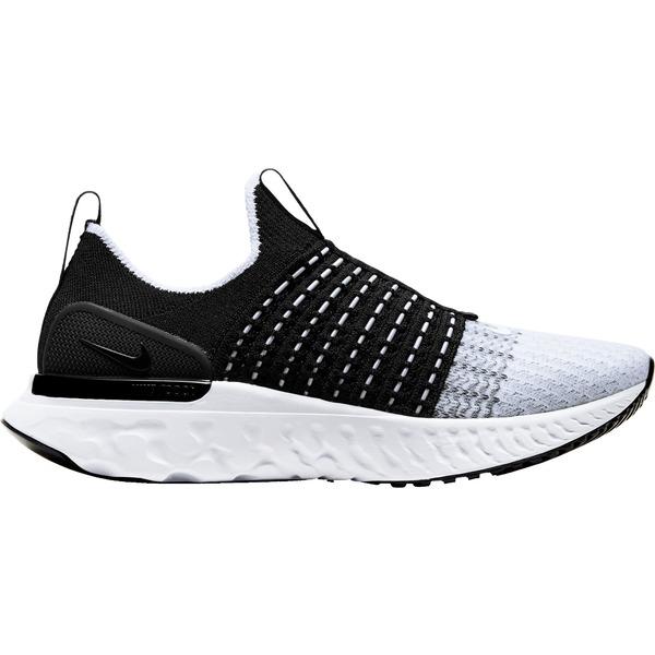 ナイキ レディース ランニング スポーツ Nike Women's React Phantom Run Flyknit 2 Running Shoes Black/White