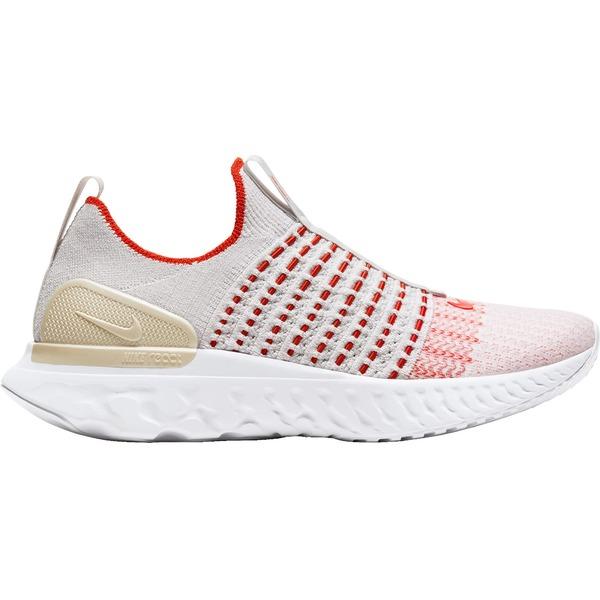 ナイキ レディース ランニング スポーツ Nike Women's React Phantom Run Flyknit 2 Running Shoes Grey/Pink