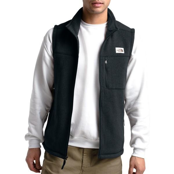 ノースフェイス メンズ ジャケット&ブルゾン アウター The North Face Men's Lyons Vest TnfBlackHthr
