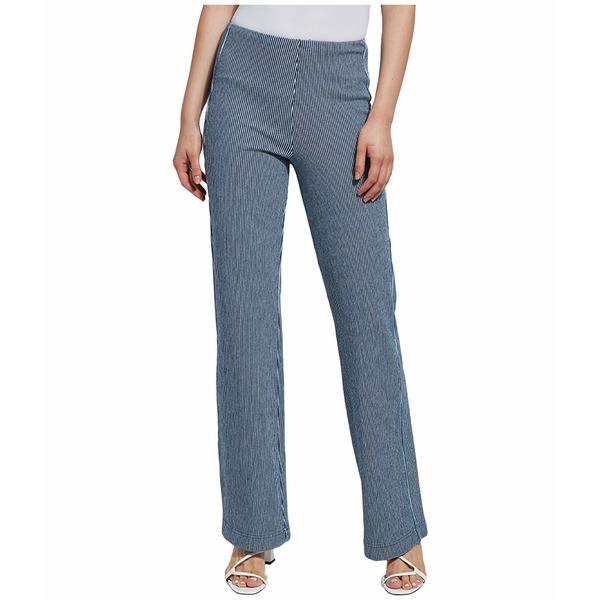 リジー レディース デニムパンツ ボトムス Denim Trouser Jeans in Pinstripe Denim Pinstripe