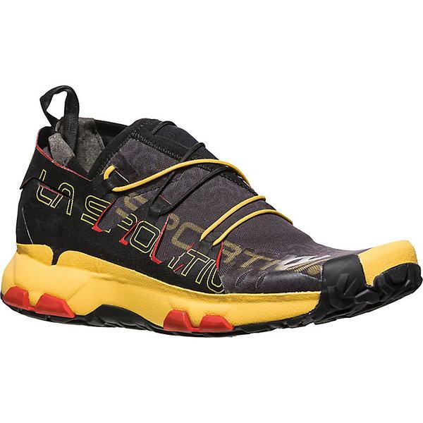 ラスポルティバ メンズ ランニング スポーツ La Sportiva Men's Unika Shoe Black / Yellow