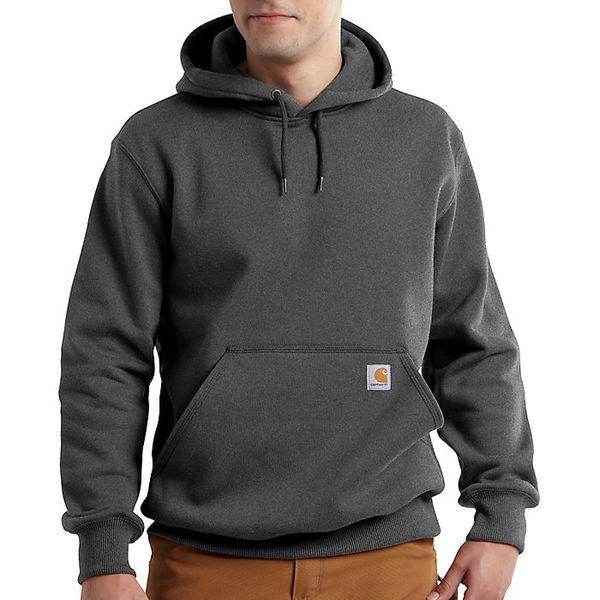 カーハート メンズ パーカー・スウェットシャツ アウター Carhartt Men's Rain Defender Paxton Heavyweight Hooded Sweatshirt Carbon Heather