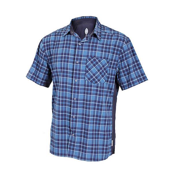 クラブライド メンズ サイクリング スポーツ Club Ride Men's Detour Shirt Steel Blue