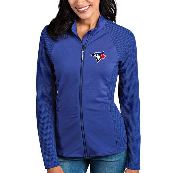 アンティグア レディース ジャケット&ブルゾン アウター Toronto Blue Jays Antigua Women's Sonar Full-Zip Jacket Royal