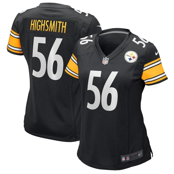 ナイキ レディース シャツ トップス Alex Highsmith Pittsburgh Steelers Nike Women's Game Jersey Black