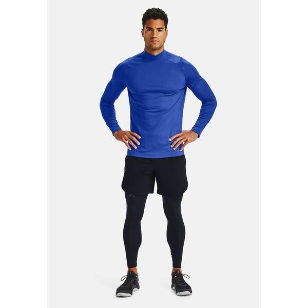 アンダーアーマー ラッピング無料 メンズ トップス シャツ emotion blue 全商品無料サイズ交換 vhah0201 - Sports 2.0 MOCK 送料無料カード決済可能 RUSH shirt