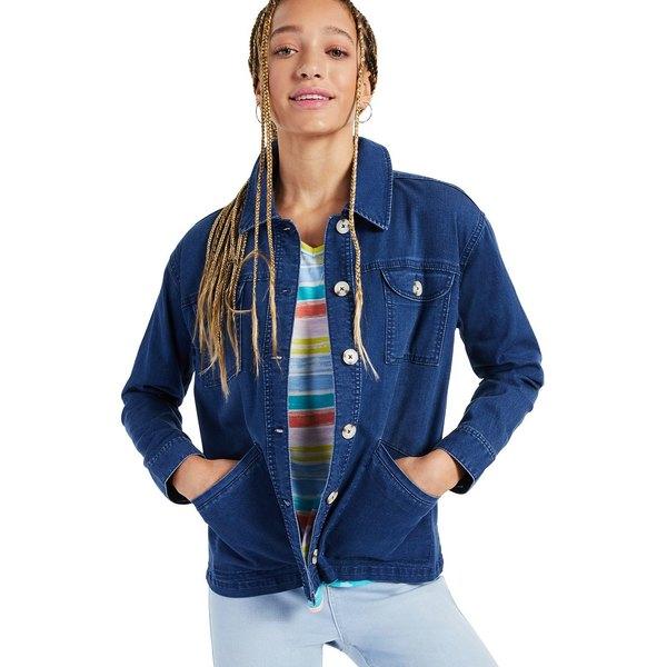スタイルアンドコー レディース アウター ジャケット ブルゾン Undercover 全商品無料サイズ交換 定番 Denim Macy's Petite for Jacket 春の新作続々 Created