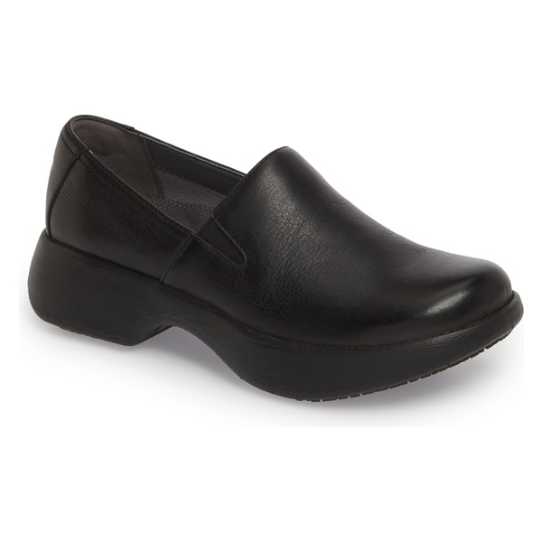 ダンスコ レディース サンダル シューズ Dansko Winona Slip-On Clog (Women) Black Milled Leather
