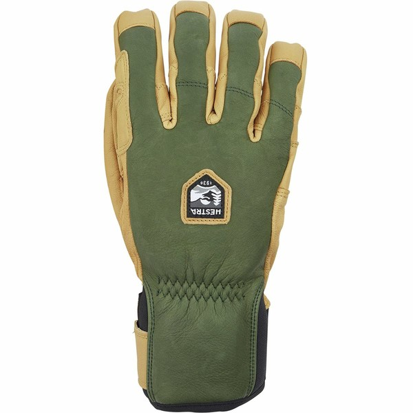 ヘストラ メンズ 手袋 アクセサリー Ergo Grip Incline Glove - Men's Forest/Natural Brown