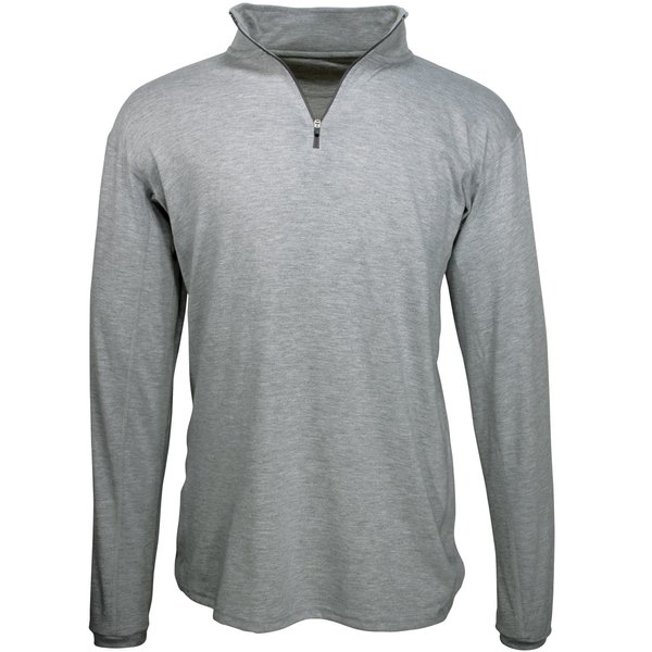 アーバーウェア メンズ ジャケット&ブルゾン アウター Arborwear Men's Quarter Zip Tech Pullover Grey