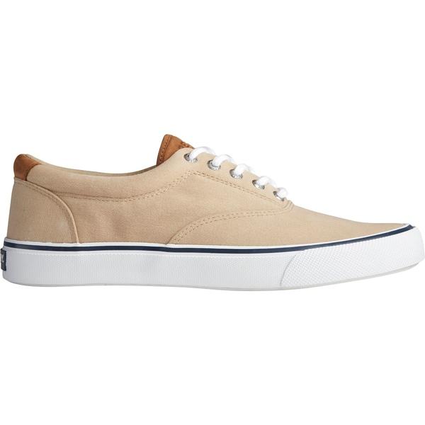 トップサイダー メンズ スニーカー シューズ Sperry Men's Striper II CVO Salt Wash Casual Shoes Chino