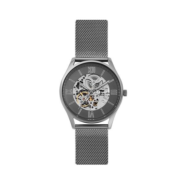 スカーゲン レディース 腕時計 アクセサリー Holst Automatic Stainless Steel Bracelet Watch Grey