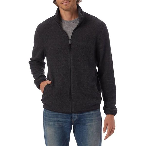 オルタナティヴ メンズ ジャケット&ブルゾン アウター Eco Teddy Full-Zip Jacket Eco Black