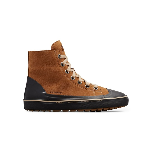 ソレル メンズ ブーツ&レインブーツ シューズ Men's Cheyanne Metro Suede Waterproof Sneaker Boots Elk Black