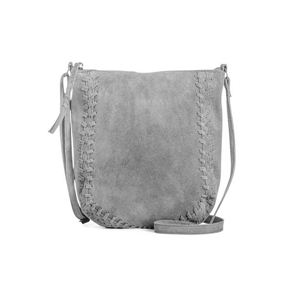 ダイアンドムード レディース ショルダーバッグ バッグ Gia Suede Crossbody Bag Grey