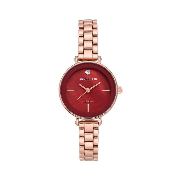 アンクライン レディース 腕時計 アクセサリー Rose Goldtone & 0.1 TCW Diamond Bracelet Watch Rose Gold
